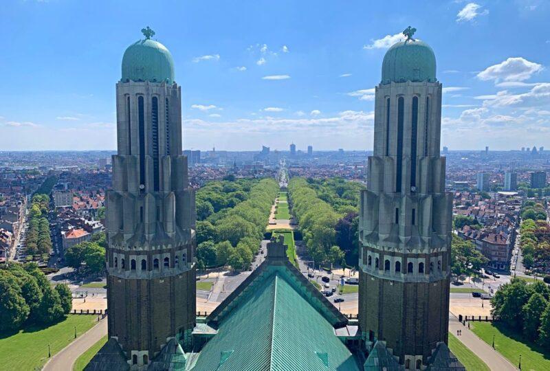Panorama sur Bruxelles depuis Koekelbger