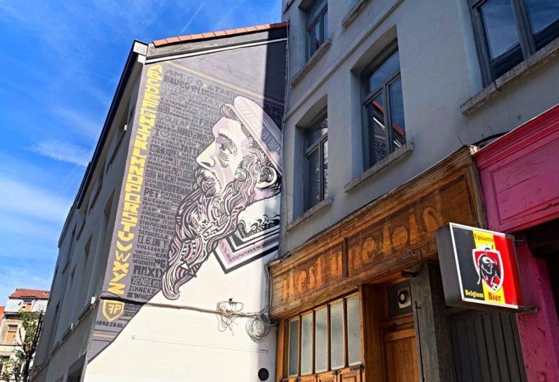 Street Art Bruegel Les Marolles
