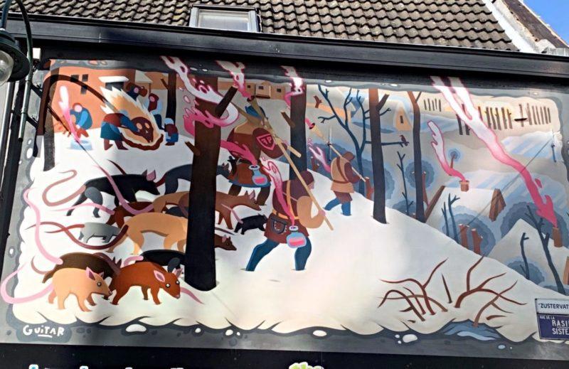 Street Art Bruegel Bruxelles