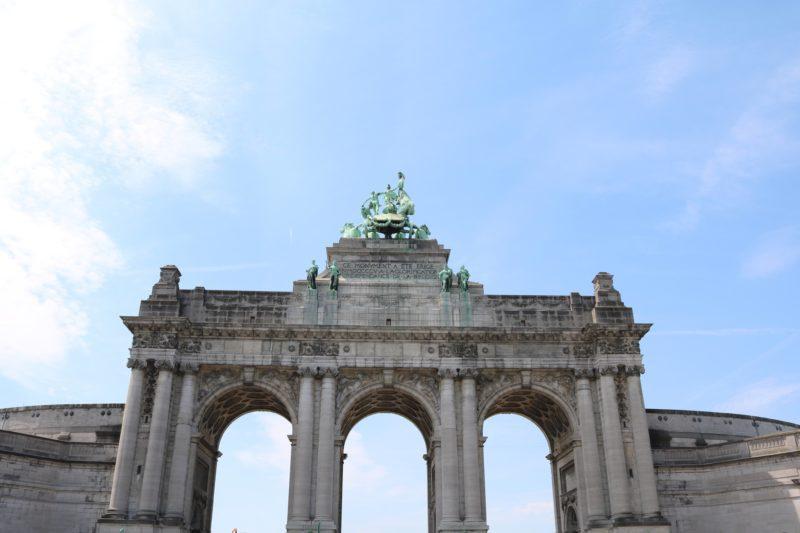 Arches du cinquantenaire Bruxelles
