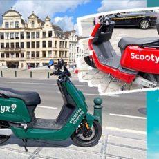 Scooters partagés Bruxelles