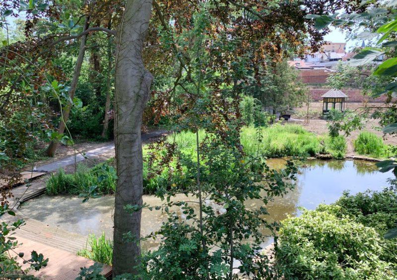 Jardin pour pique niquer à Bruxelles