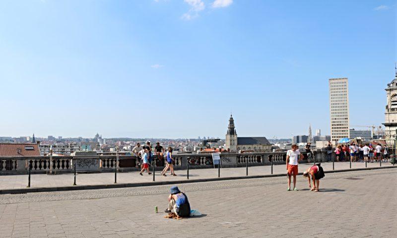 Bruxelles en été