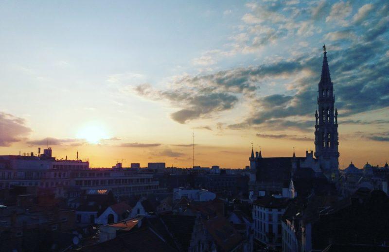 Coucher de soleil Bruxelles