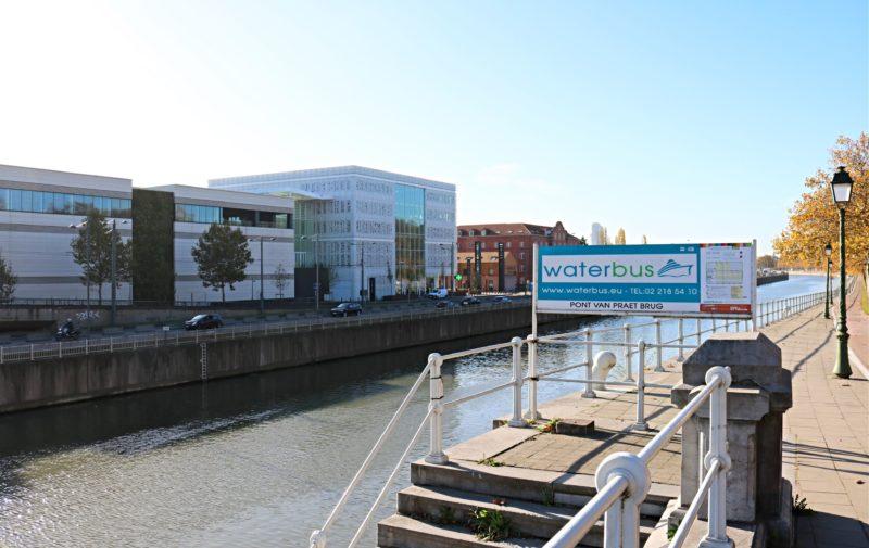 Waterbus canal de Bruxelles