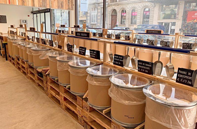 Marché Barn bio Bruxelles