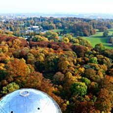 Bruxelles Atomium Automne