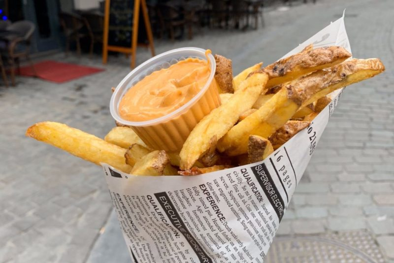 Meilleures frites de Bruxelles
