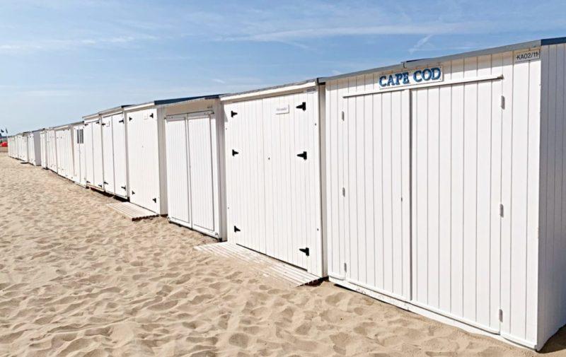 Knokke-le-Zoute cabanons de plage