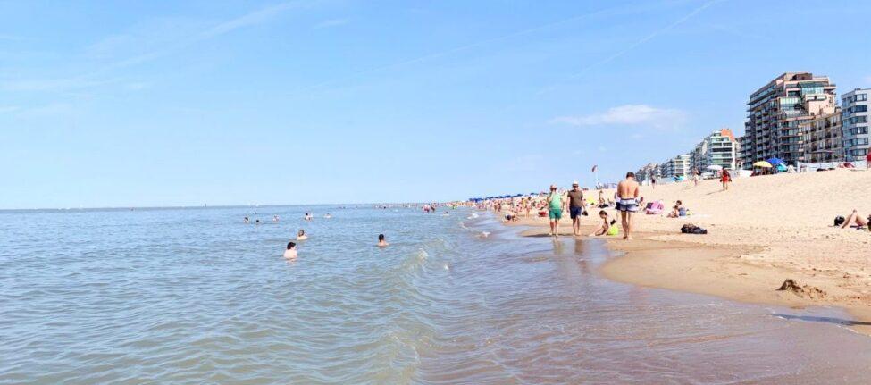 Knokke le Zoute plage de Belgique