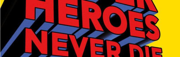 Affiche Superheroes Musée Juif de Belgique