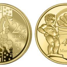 Pièce Manneken-Pis 2,50€