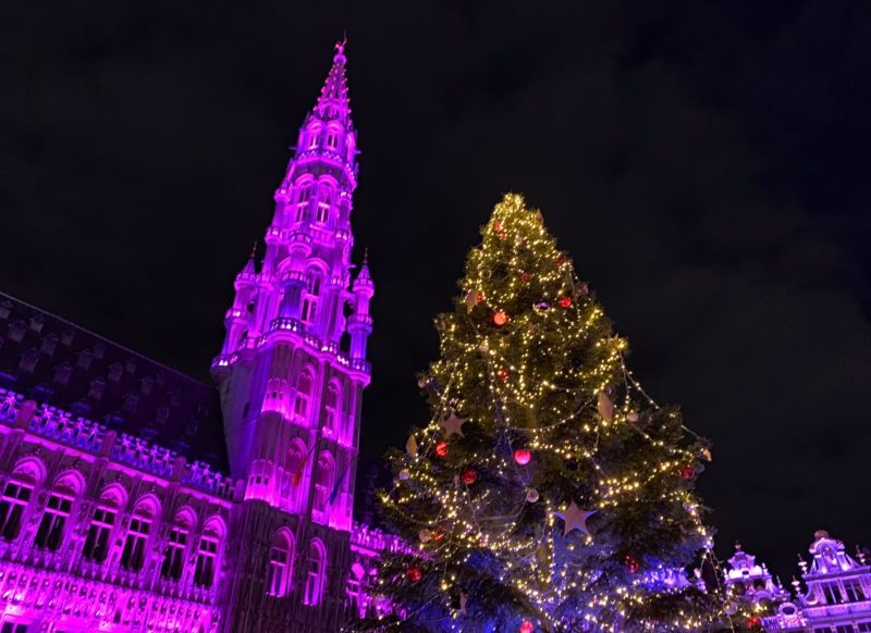 Sapin Grand-Place Bruxelles 2019