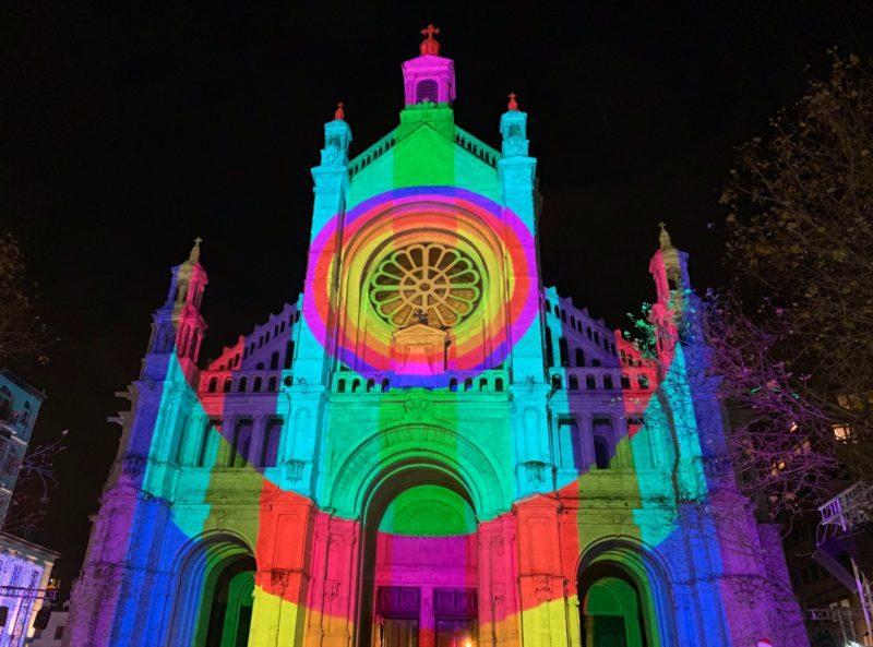 Illuminations Video mapping Sainte Catherine 2019