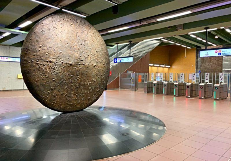 Station botanique Bruxelles