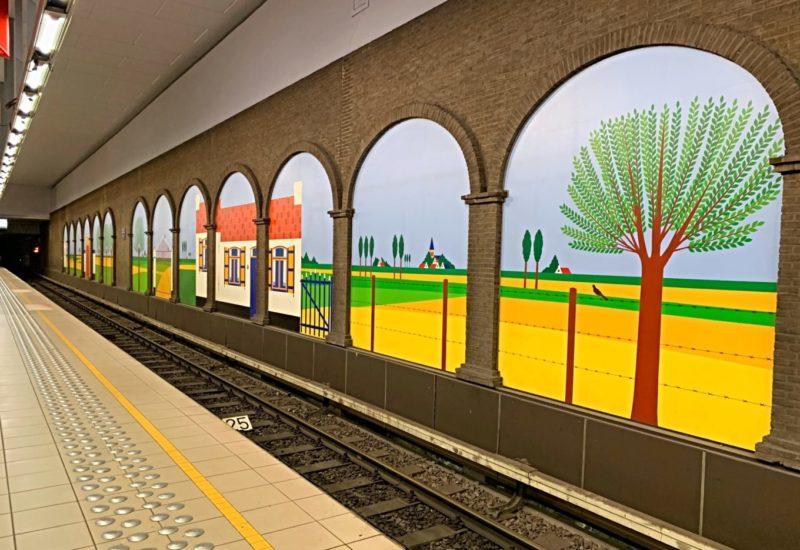 Station Clémenceau Bruxelles