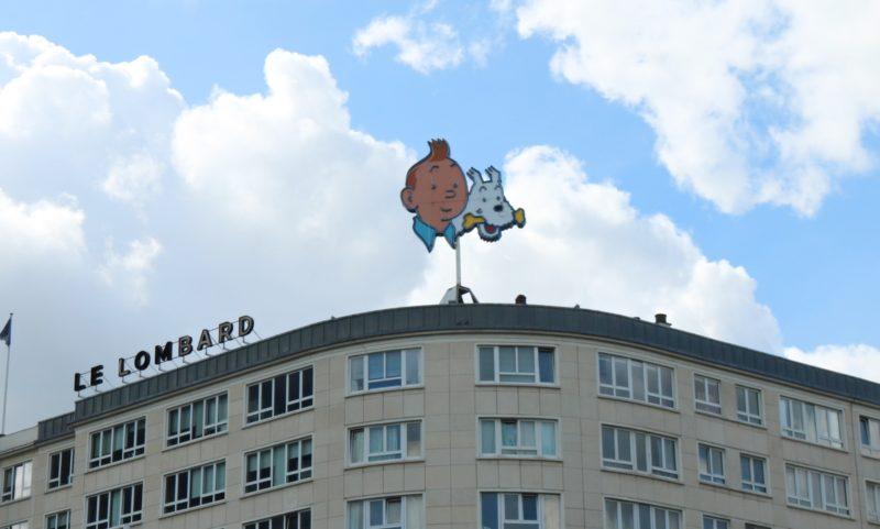 Tintin le Lombard Bruxelles